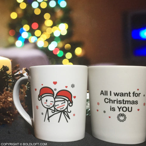 Merry Christmas™ Couple Mugs
