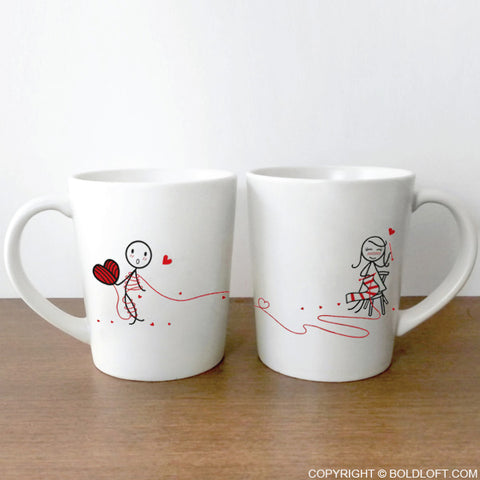 Couple coffee mugs, his and hers gifts, couples gifts