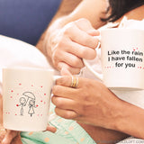 I've Fallen for You™ Couple Coffee Mug Set