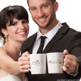 Wedding Gifts for Bride & Groom-BoldLoft Forever & Always Couple Coffee Mugs