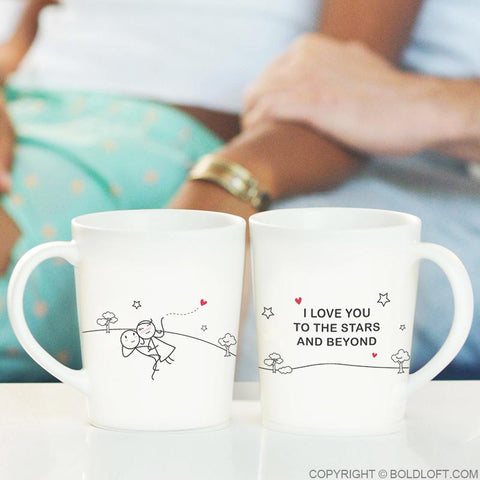Love You to the Stars & Beyond™ Couple Mugs