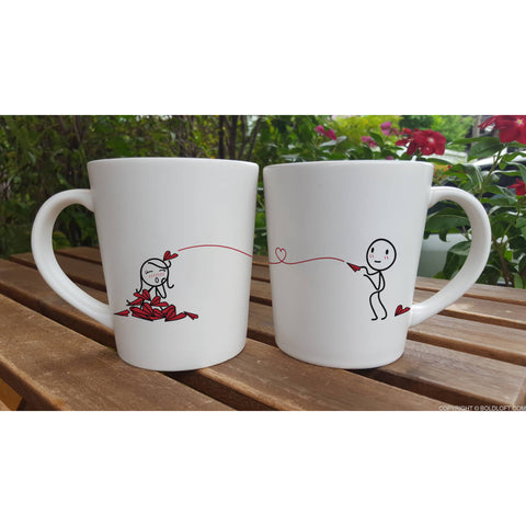 Love Will Find A Way™ Couple Coffee Mugs
