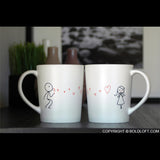 Valentines Day Gifts for Her | From My Heart to Yours His and Hers Mugs