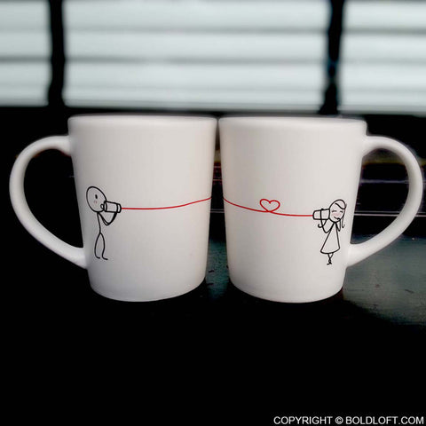 Valentines Gifts for Her | Say I Love You His and Hers Coffee Mugs