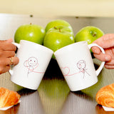 My Heart Beats for You™ His & Hers Couple Mugs