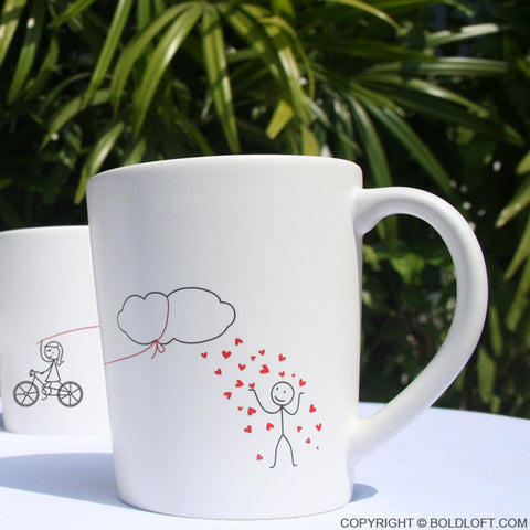 Shower You with My Love™ Couples Coffee Mugs