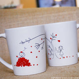 Love You Madly™ Couple Coffee Mugs