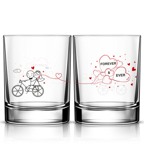 Forever & Ever™ Wedding Drinking Glass Set
