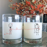 Tie the Knot™ Wedding Drinking Glasses