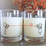 Say I Love You™ Couple Drinking Glass Set