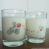 All My Love for You™ Couple Drinking Glass Set