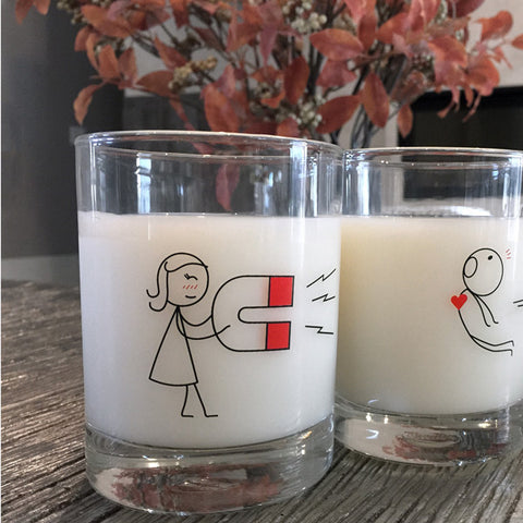 You're Irresistible™ Couple Drinking Glass Set