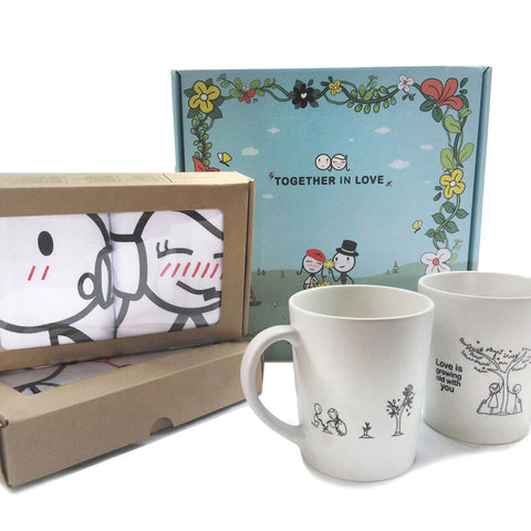 Together in Love™ Couple Gift Set IV