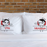 Craving for You™ Matching Couple Pillowcase Set