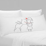 A Big Kiss™ Body Pillowcase