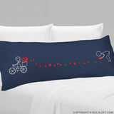All My Love for You™ Body Pillowcase (Dark Blue)