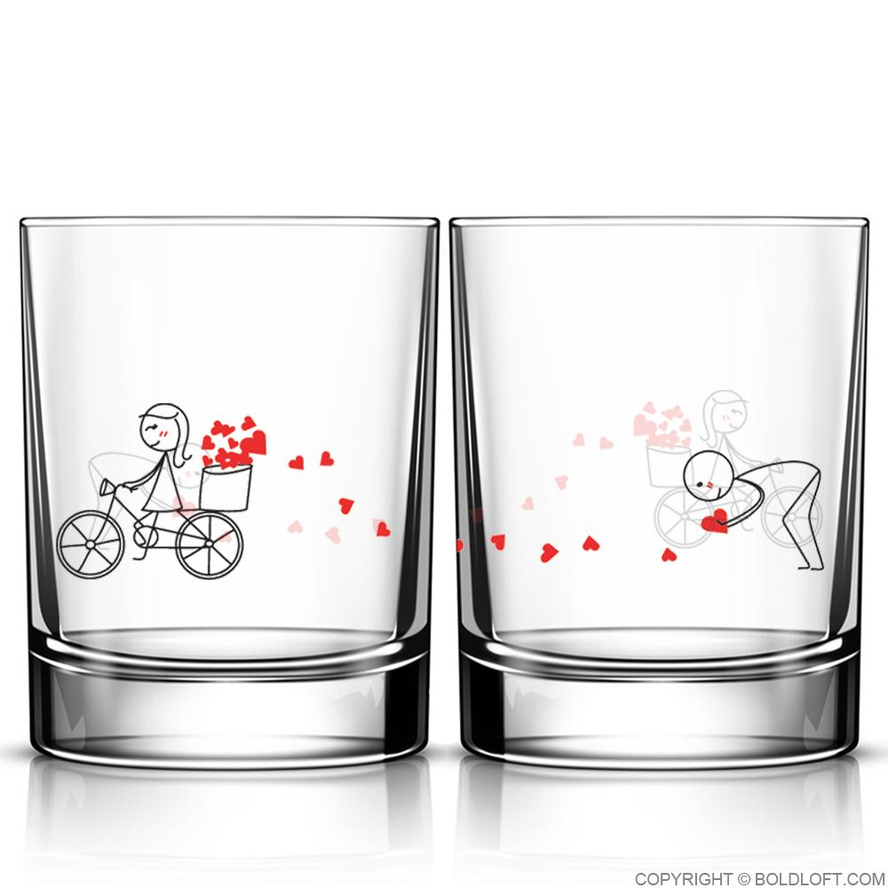 All My Love for You™ Drinking Glass Set