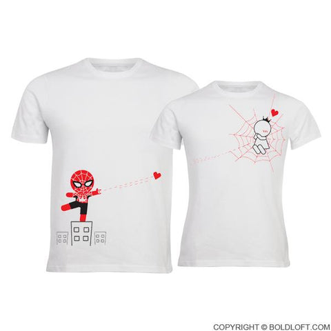bc6e94ef02 BoldLoft Love A Lot His and Hers Shirts Logo; Captured by Your Love™ Couple  T-Shirts ...