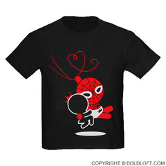 T-Shirts (Kids) - Captured by Your Love™ Black