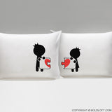 Complete My Heart™ His & Hers Pillowcases