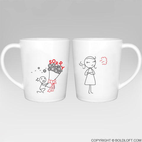 Forgive Me Please!™ Coffee Mugs