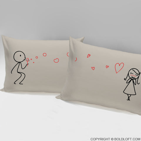 From My Heart to Yours™ Pillowcases (Khaki)