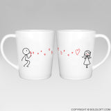 Valentines Day Gifts for Her | From My Heart to Yours Coffee Mugs