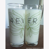 Forever™ Couple Drinking Glass Set