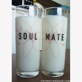 SoulMate™ Couple Drinking Glass Set