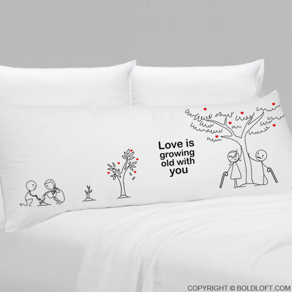 Grow Old with You® Body Pillowcase