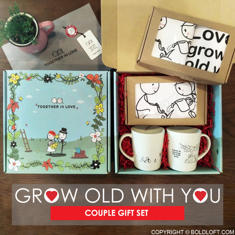 Grow Old with You™ Couples Gift Set