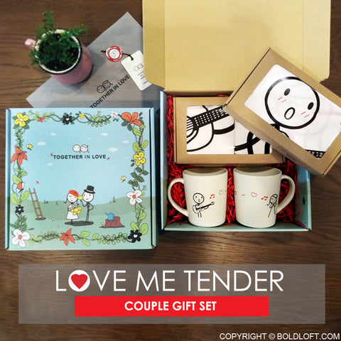 Love Me Tender™ Couples Gift Set