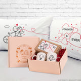 Wedding Couple Gift Set his and hers gifts couple pillowcases coffee mugs