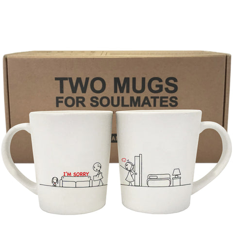 I'm Sorry™ Couple Mug Set