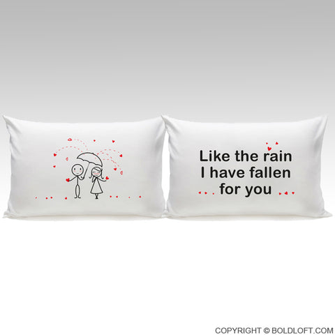 I've Fallen for You™ Couple Pillowcases