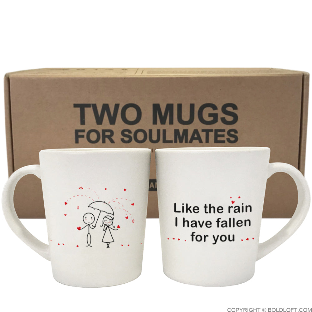 I've Fallen for You™ Couple Coffee Mugs
