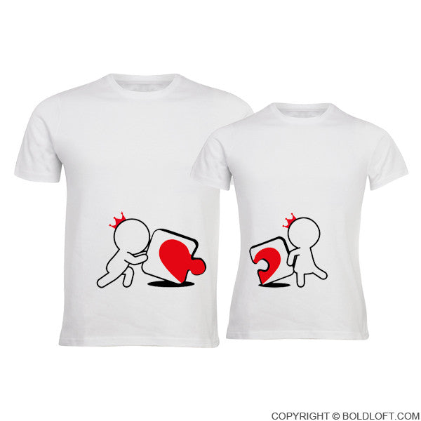 Incomplete Without You™ His & Hers Couples Shirts