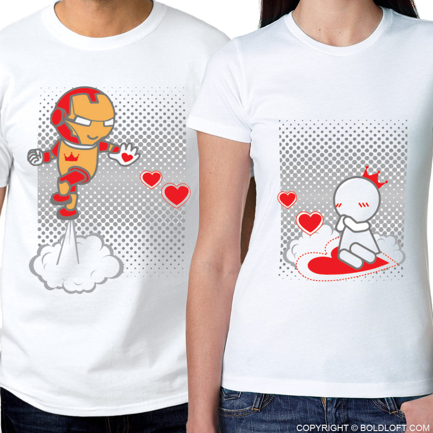 Keep Calm And Love Me™ His & Her Matching Couple Shirt Set