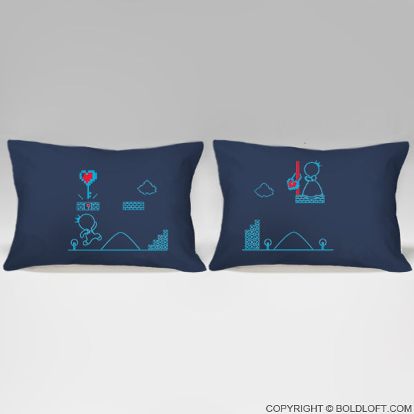 Key to My Heart™ His & Hers Couple Pillowcase Set