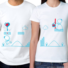 Key To My Heart™ His & Hers Matching Couple Shirt Set