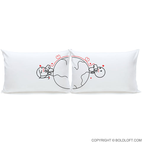 Distance couples for long pillows Long