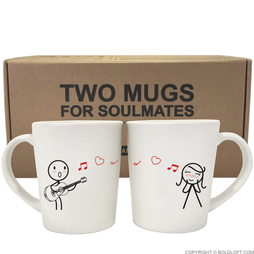 Love Me Tender™ Couple Coffee Mugs