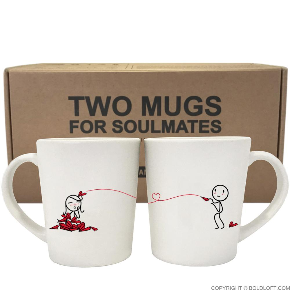 Love Will Find A Way™ Couple Mug Set