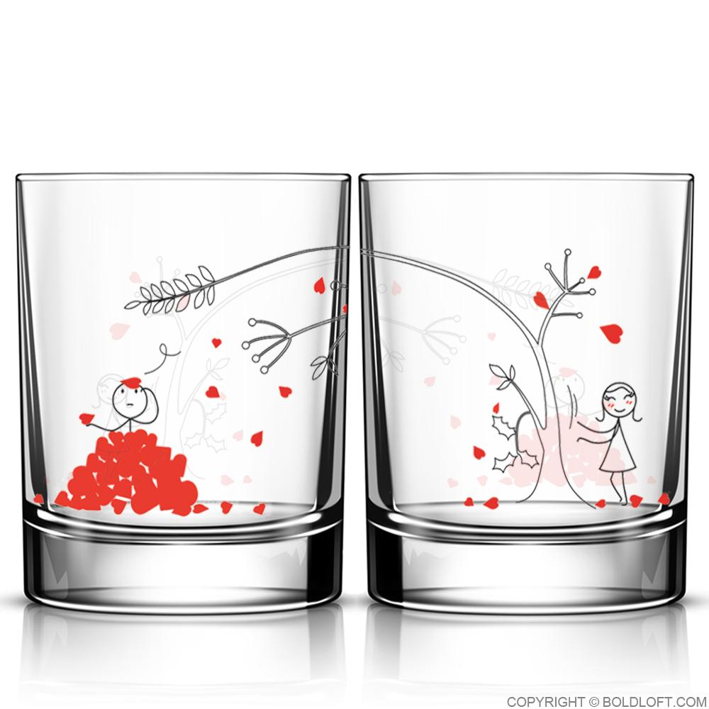 Love You Madly™ Drinking Glass Set