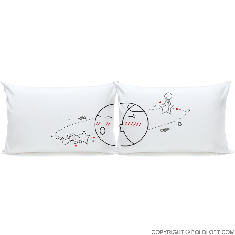 Love You to the Moon...and Back™ Couple Pillowcase Set