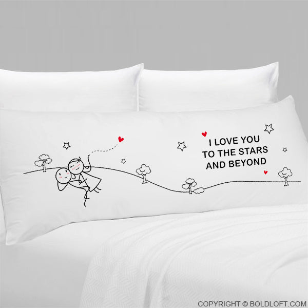 Love You to the Stars & Beyond® Body Pillowcase