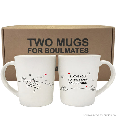 Love You to the Stars & Beyond™ Couple Mug Set