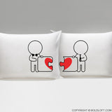 Wedding Gifts for Gay Couples-Made for Each Other™ Gay Couple Pillowcases