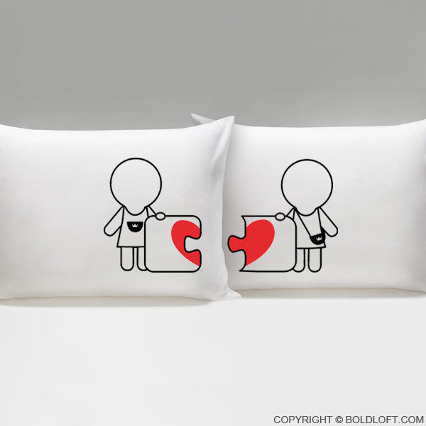 Lesbian Wedding Gifts-Made for Each Other™ Lesbian Couple Pillowcases