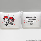 Merry Christmas™ Couple Pillowcases